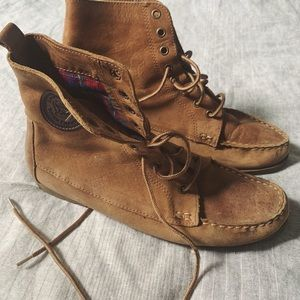 MIA leather lace up boots